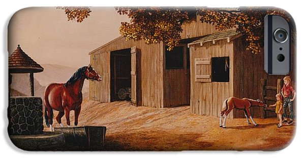 First Meeting IPhone Case by Duane R Probus