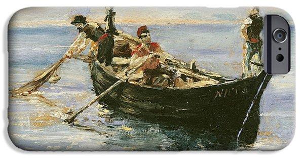 Fishing Boat IPhone Case by Henri de Toulouse-Lautrec