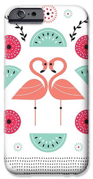 Flamingo Flutter IPhone 6s Case by Susan Claire