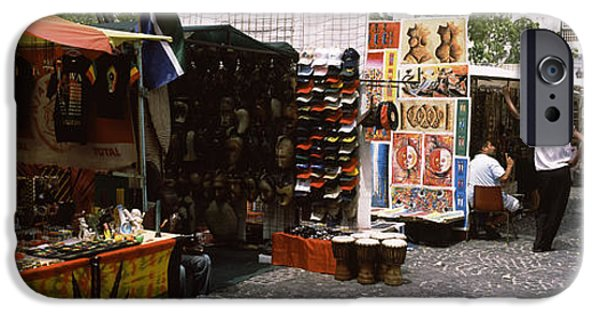 Flea Market At A Roadside, Greenmarket IPhone Case by Panoramic Images