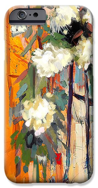 Floral 17 IPhone Case by Mahnoor Shah