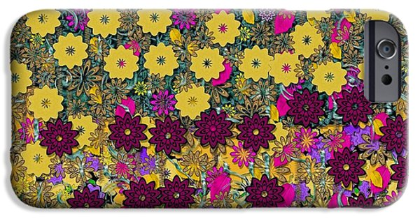 Floral In The Sun Dancing In The Air IPhone Case by Pepita Selles