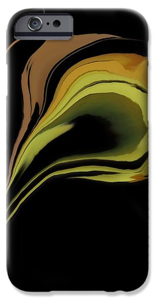 Flower Abstract IPhone Case by Art Spectrum