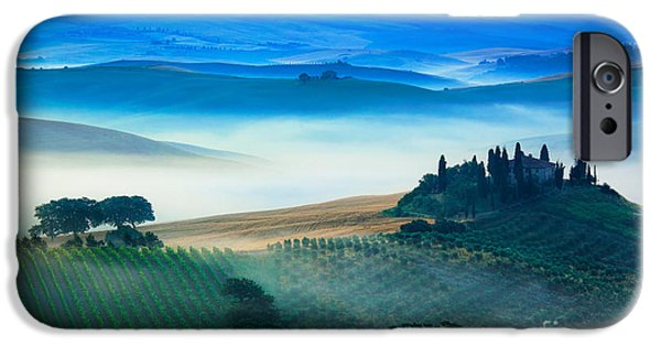 Fog In Tuscan Valley IPhone 6s Case by Inge Johnsson