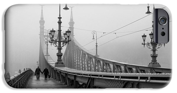 Foggy Day In Budapest IPhone Case by Ayhan Altun