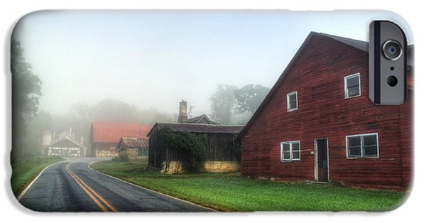Foggy Morning In Brasstown Nc IPhone Case by Greg and Chrystal Mimbs