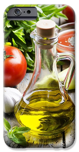 Food Ingredients IPhone Case by Jelena Jovanovic