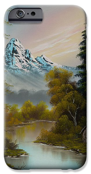 Mountain Sanctuary IPhone Case by C Steele
