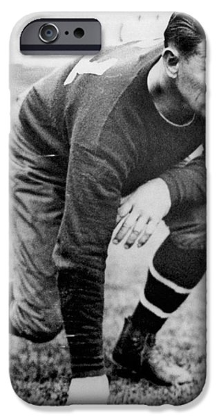 Football Player Jim Thorpe IPhone 6s Case by Underwood Archives