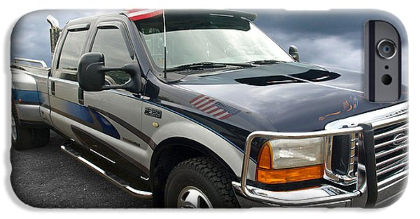 Ford F350 Super Duty Truck IPhone Case by Gill Billington