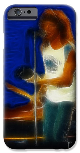Foreigner-lou-ga10-fractal IPhone Case by Gary Gingrich Galleries