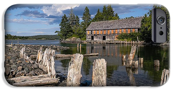 Forgotten Downeast Smokehouse IPhone Case by Marty Saccone