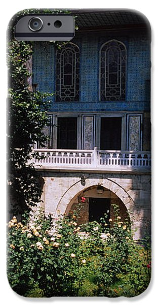 Formal Garden In Front Of A Building IPhone 6s Case by Panoramic Images