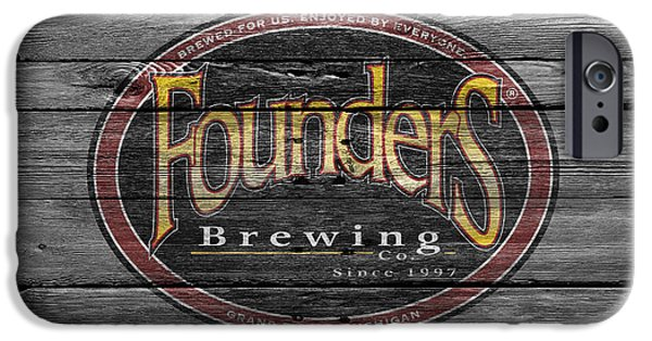 Founders Brewing IPhone Case by Joe Hamilton