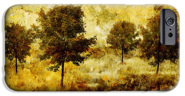 Four Trees IPhone Case by John Edwards