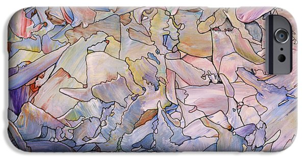 Fragmented Sea - Square IPhone 6s Case by James W Johnson