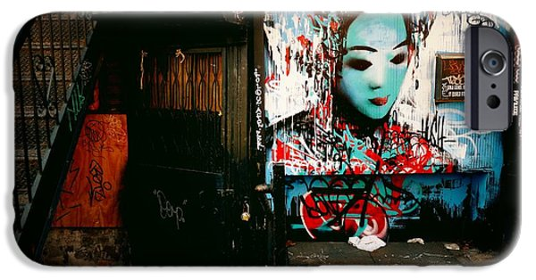 Fragments - Street Art - New York City IPhone Case by Vivienne Gucwa