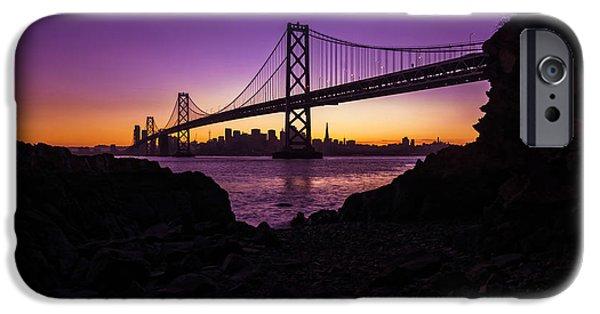 Framing The Bay IPhone Case by Dustin  LeFevre