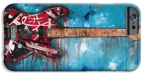 Frankenstrat IPhone Case by Sean Parnell