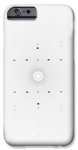 Franklin's X-ray Diffraction Research IPhone Case by King's College London Archives