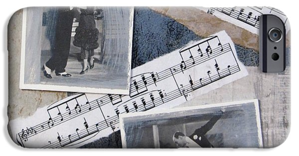 Fred And Ginger Collage IPhone Case by Anita Burgermeister
