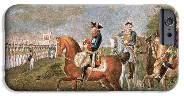 Frederick II The Great (1712-1786 IPhone Case by Prisma Archivo