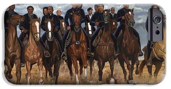 Freedom Riders IPhone Case by Kolongi Brathwaite
