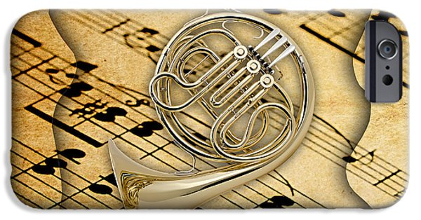 French Horn Collection IPhone 6s Case by Marvin Blaine