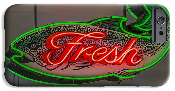 Fresh Fish IPhone Case by Scott Campbell