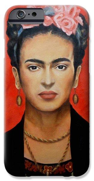 Frida Kahlo IPhone Case by Elena Day