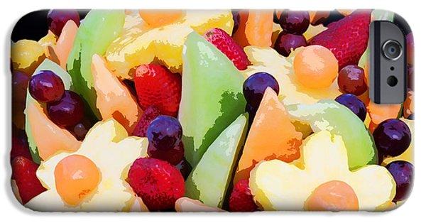 Fruit Kabobs IPhone Case by Cindy Singleton