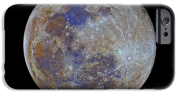 Full Moon IPhone Case by Luis Argerich