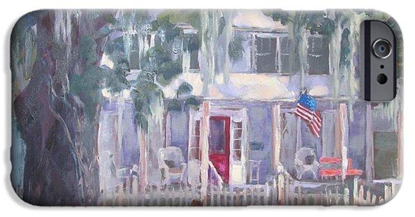 Gander House IPhone Case by Susan Richardson