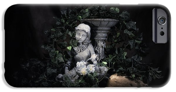 Garden Maiden IPhone Case by Tom Mc Nemar