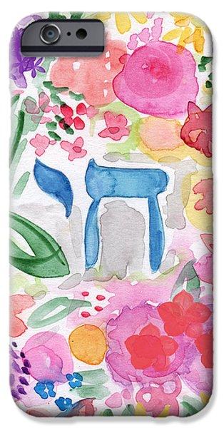 Garden Of Life IPhone Case by Linda Woods