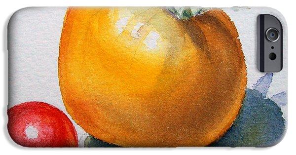 Garden Tomatoes IPhone 6s Case by Irina Sztukowski