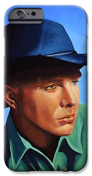 Garth Brooks IPhone Case by Paul Meijering