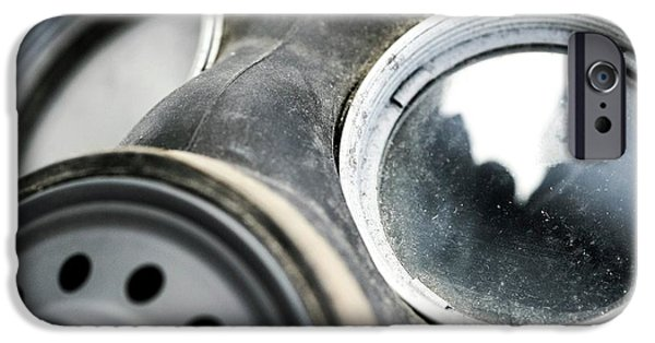 Gas Mask IPhone Case by Crown Copyright/health & Safety Laboratory Science Photo Library