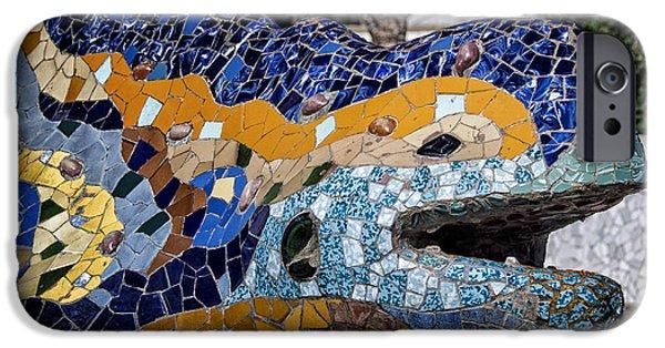 Gaudi Dragon IPhone 6s Case by Joan Carroll