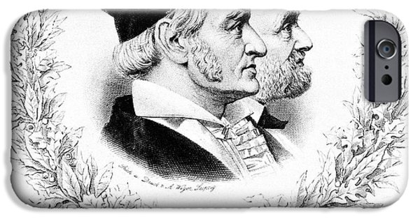 Gauss And Weber IPhone Case by Science Photo Library