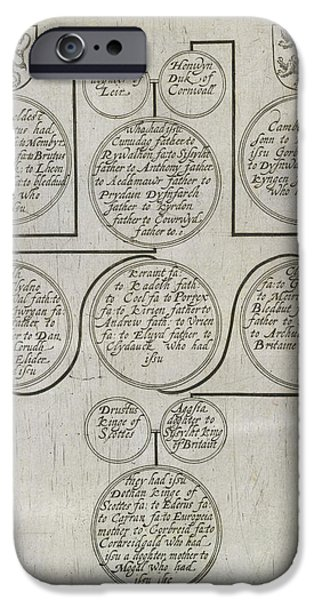 Genealogy Of James I IPhone Case by British Library