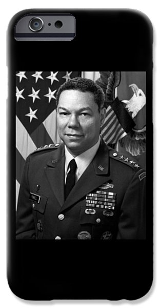General Colin Powell IPhone Case by War Is Hell Store