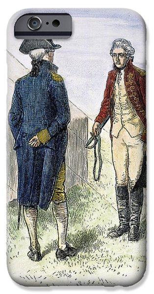 General John Burgoyne IPhone Case by Granger