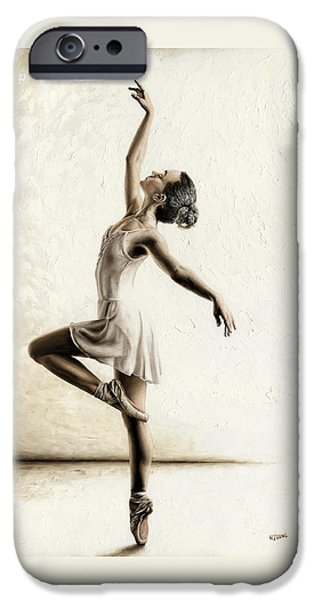Genteel Dancer IPhone Case by Richard Young