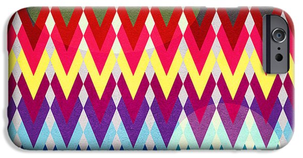 Geometric Colors  IPhone 6s Case by Mark Ashkenazi