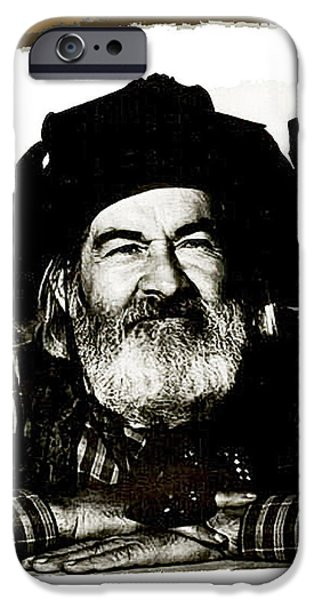 George Hayes Portrait #1 Card IPhone 6s Case by David Lee Guss