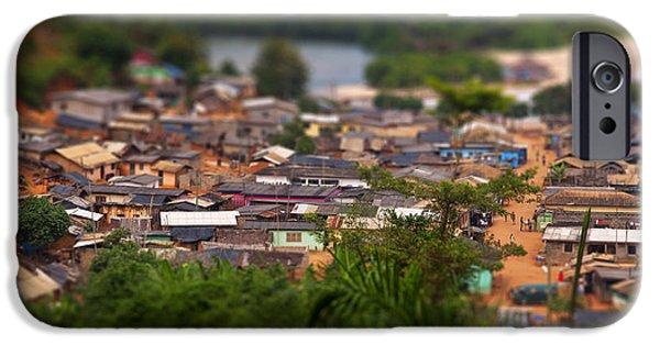 Ghanaian Village IPhone Case by Samuel Whitton