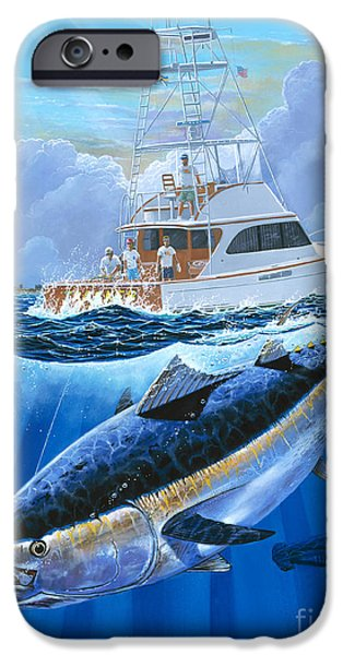 Giant Bluefin Off00130 IPhone Case by Carey Chen