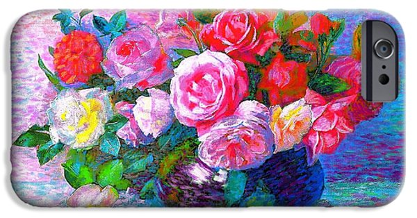 Gift Of Roses IPhone Case by Jane Small