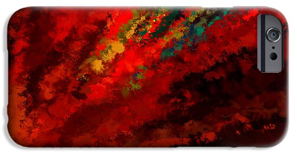 Glance Of Colors IPhone Case by Lourry Legarde